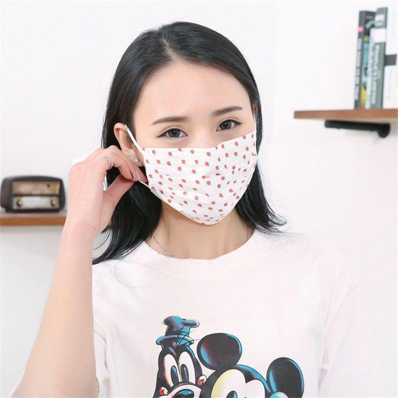 Coreana con mascarilla