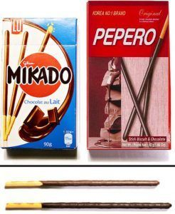 Mikado en pepero day