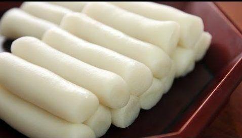 pastel de arroz coreano