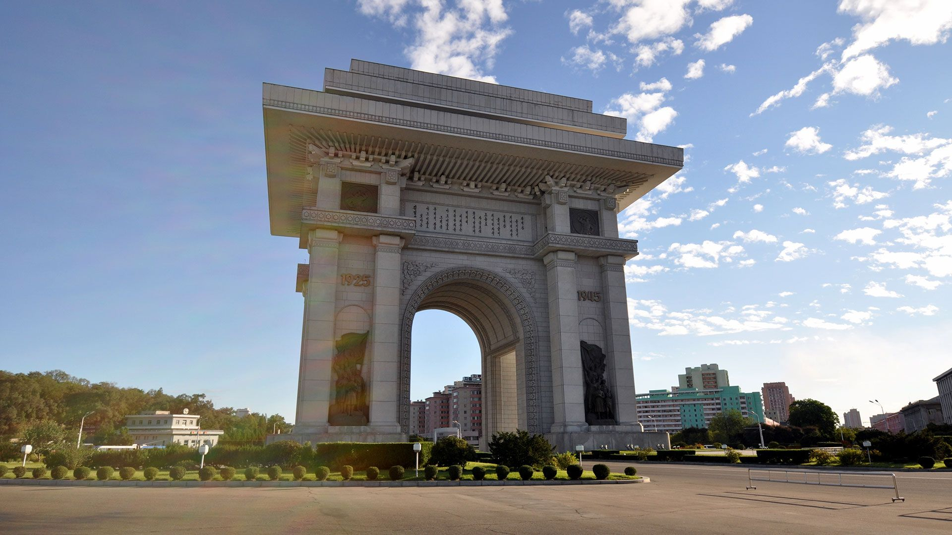 El arco de triunfo de Corea del norte
