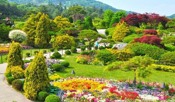 The Garden of Morning Calm en Corea