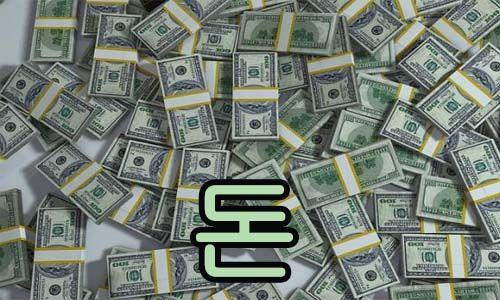 dinero en coreano