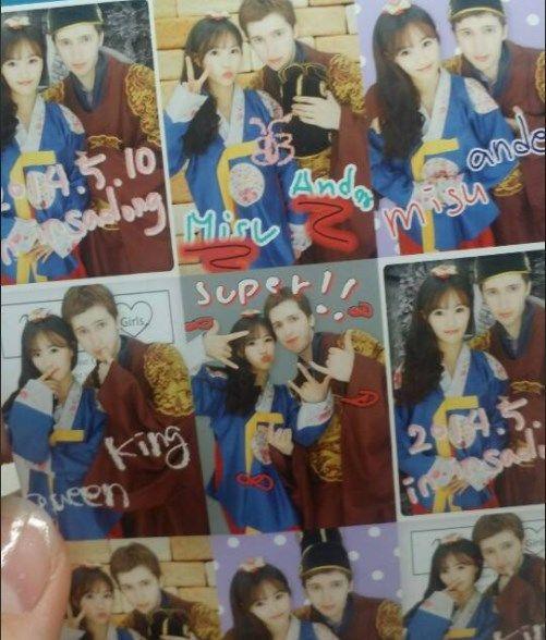 fotos de parejas en insadong seul