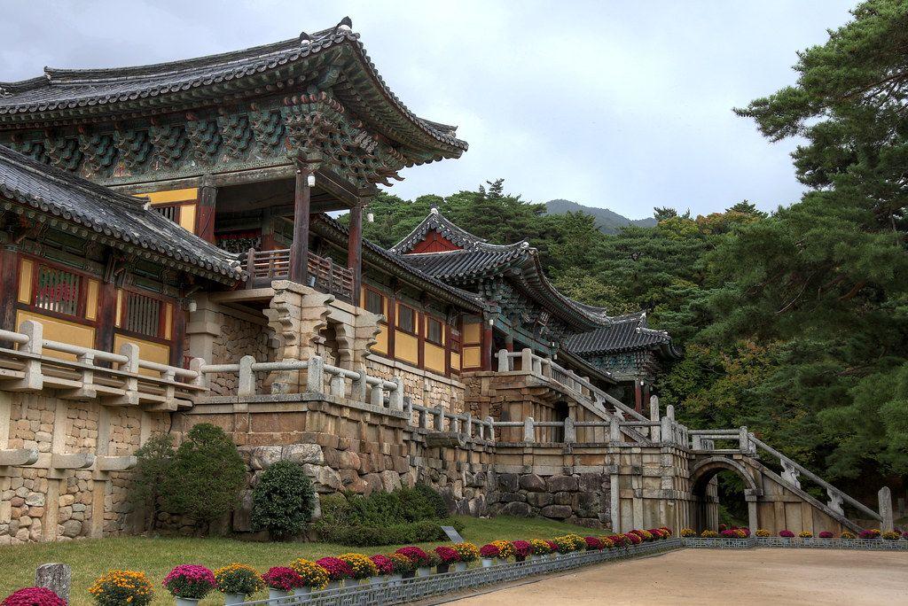 Bulguksa templo sagrado busista en corea