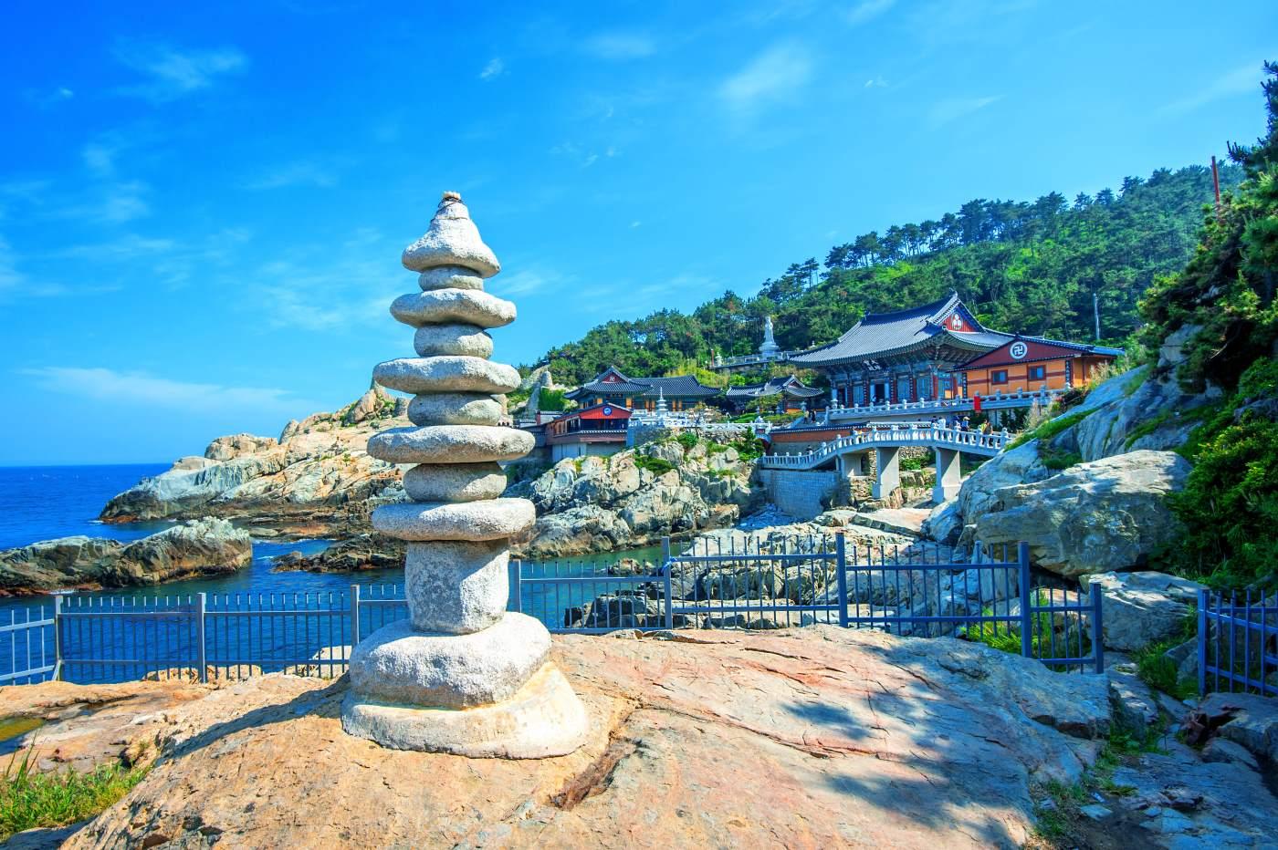 Templo Haedong Youggungsa en Busan