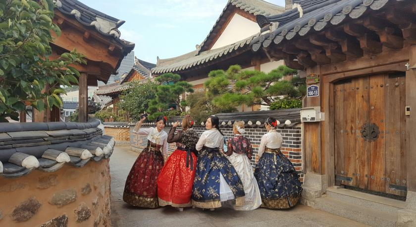 jeonju pueblo tradicional coreano