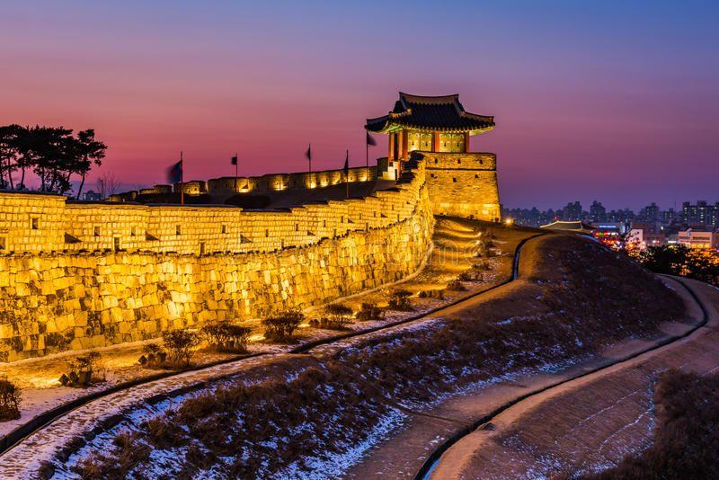 muralla de suwon corea