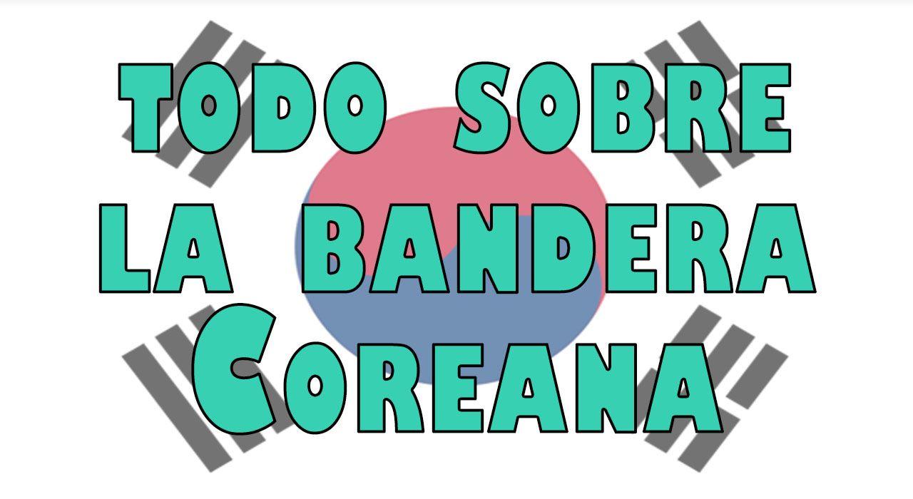 sobre la bandera coreana