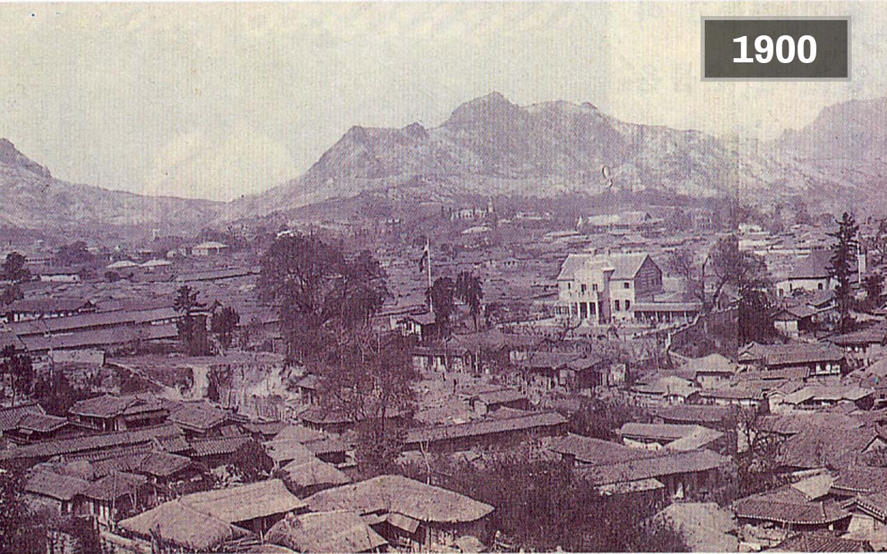 seul en 1900