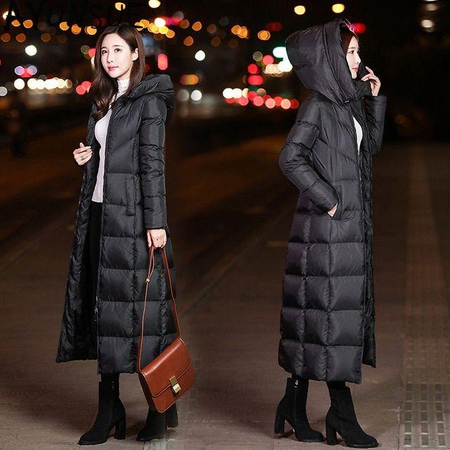 chaqueta de invierno coreana mujer