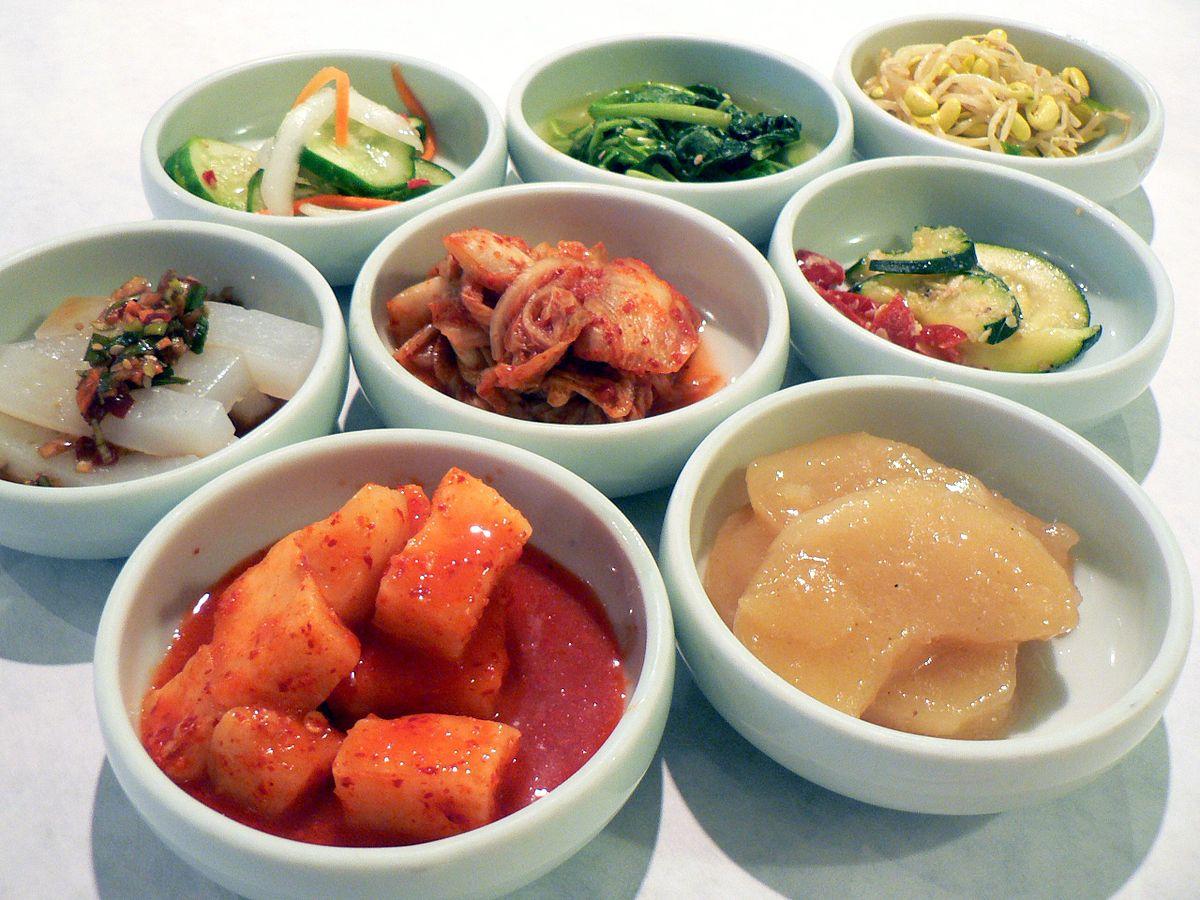 banchan coreano platos