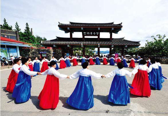 Ganggangsullae chicas corea