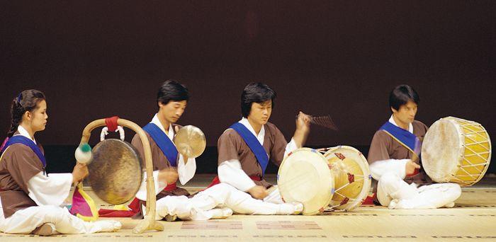 Samulnori coreano