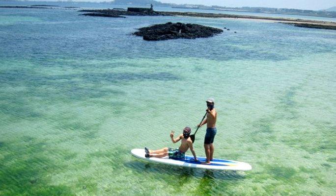 paddle en isla de jeju